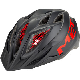 MET Crackerjack Casque Enfant, black/red